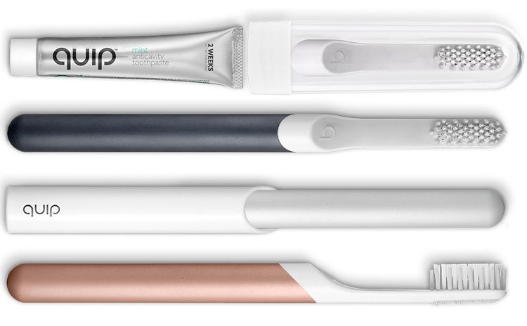 Quip toothbrushes
