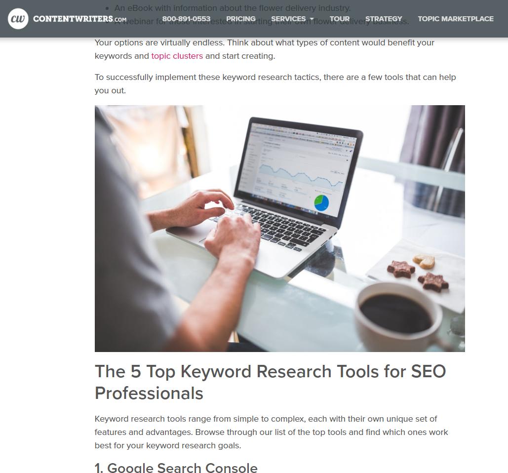 SEO Summer Highlights Keyword Research Blog 1