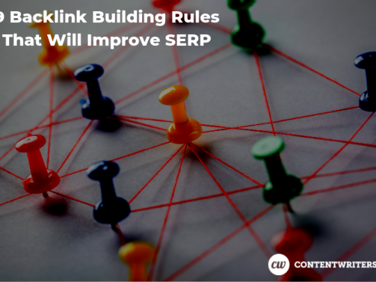 9 Backlink Building Rules That Will Improve SERP