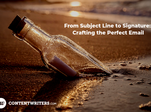 From Subject Line to Signature Crafting the Perfect Email