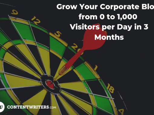 Grow Your Corporate Blog from 0 to 1000 Visitors per Day in 3 Months