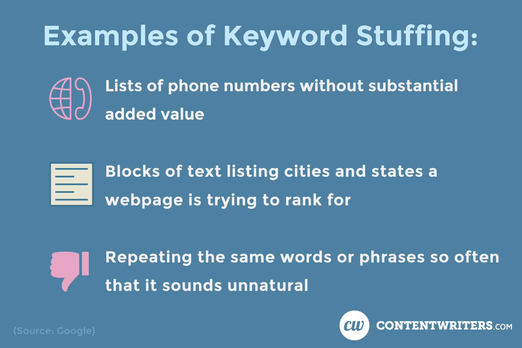 Keyword Stuffing Examples ContentWriters