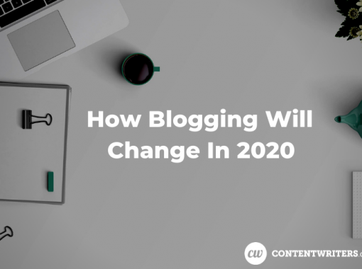 How Blogging Will Change In 2020