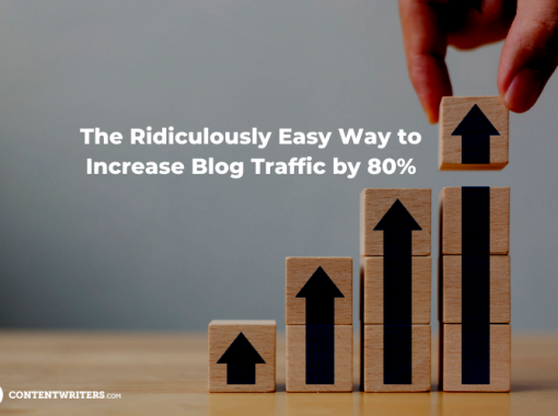 The Ridiculously Easy Way to Increase Blog Traffic by 80