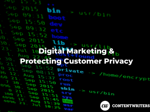 Digital Marketing Protecting Customer Privacy