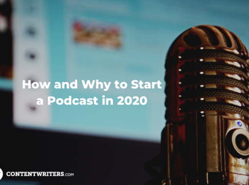 How and Why to Start a Podcast in 2020