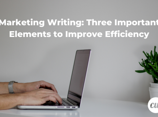Marketing Writing Three Important Elements to Improve Efficiency