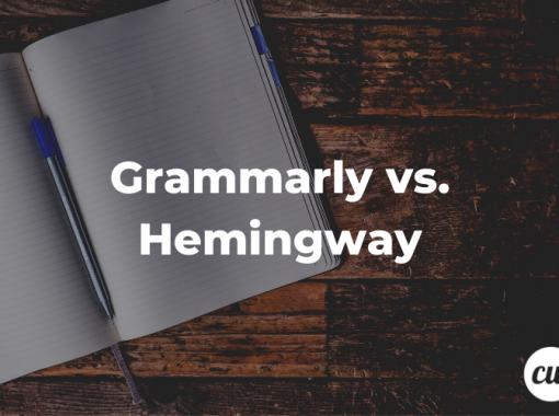 Grammarly vs. Hemingway