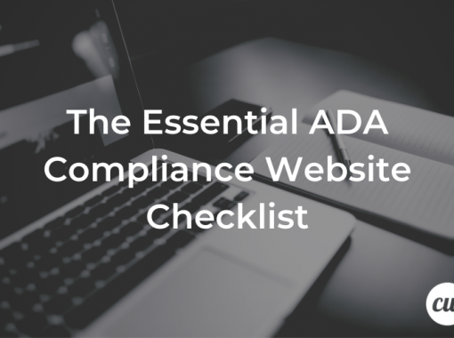 The Essential ADA Compliance Website Checklist