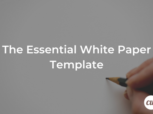 The Essential White Paper Template