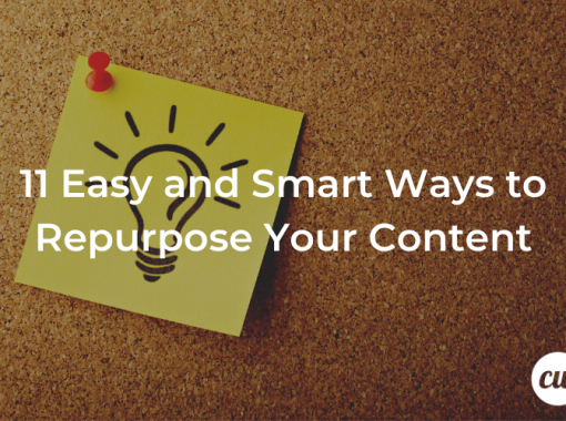 11 Easy and Smart Ways to Repurpose Your Content