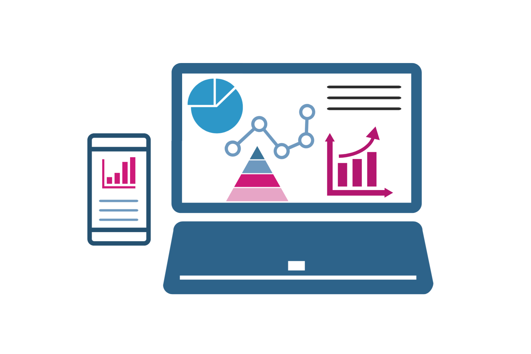 SEO Analytics Graphic