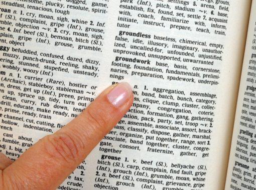 thesaurus min
